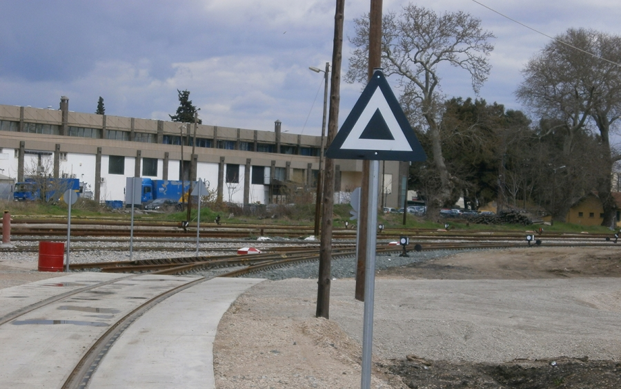 Σιδηροδρομική Σύνδεση Νέου Προβλήτα Λιμένα Αλεξανδρούπολης