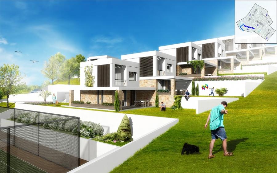 Συγκρότημα εξοχικών κατοικιών στην Καλάνδρα Χαλκιδικής