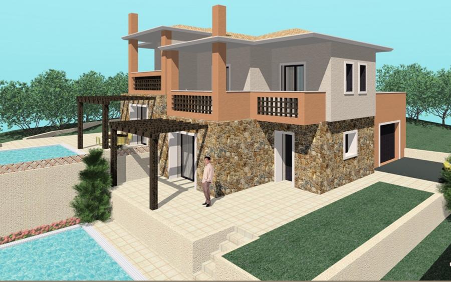 Συγκρότημα κατοικιών στις Λούτσες, Κέρκυρας