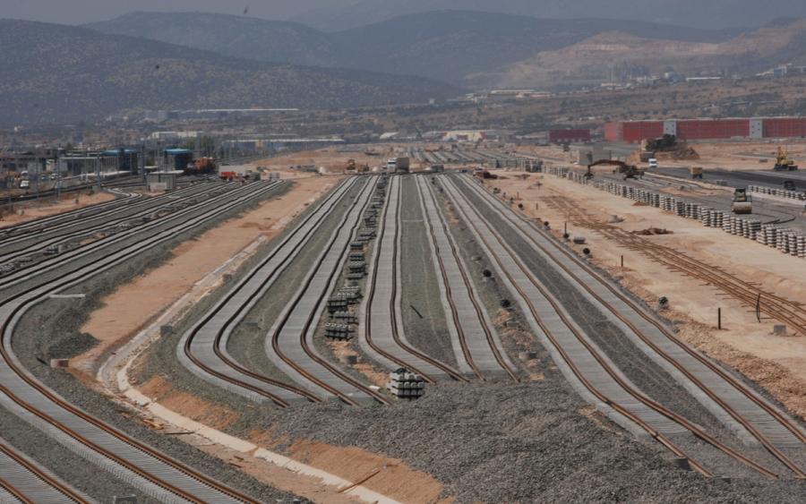 Κατασκευή συγκροτήματος σταθμών Θριασίου Πεδίου (Α' Λειτουργική Φάση)