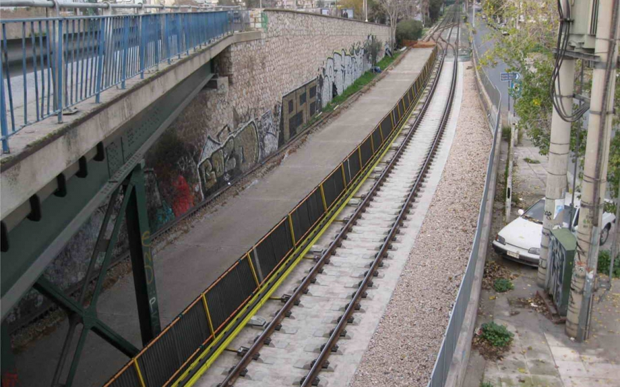 Ανακαίνιση υποδομής – επιδομής γραμμών και ενίσχυση σήραγγας από Ομόνοια έως Μοναστηράκι της ΗΣΑΠ Α.Ε.